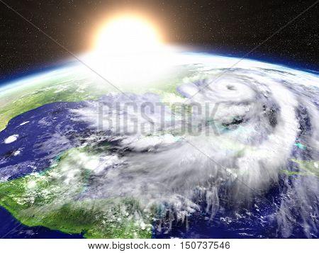 Hurricane Sunset