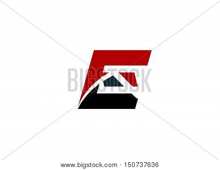 Abstract letter E logo icon design .Abstract logo design template