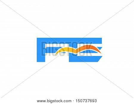 FE initial company logo. FE initial company logo