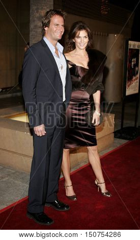 Cindy Crawford and Rande Gerber at the Los Angeles premiere of 'The Good German' held at the Egyptian Theatre in Hollywood, USA on December 4, 2006.