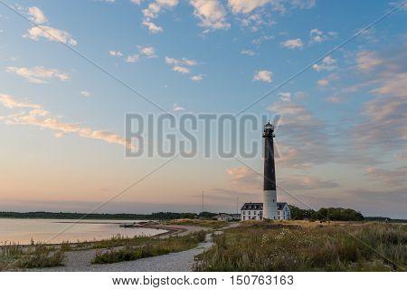 Sorve lighthouse on the island of Saaremaa, Estonia