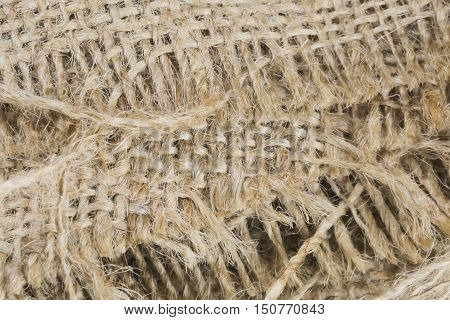 burlap texture background, old Brown burlap exture