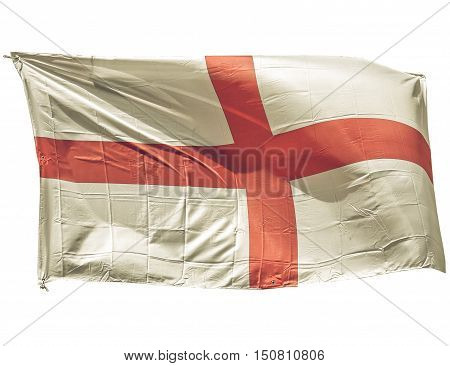 Vintage Looking England Flag