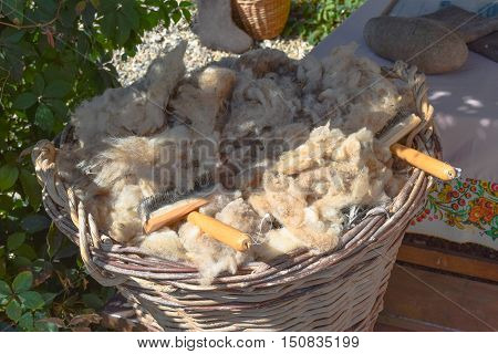 The Wool In The Basket