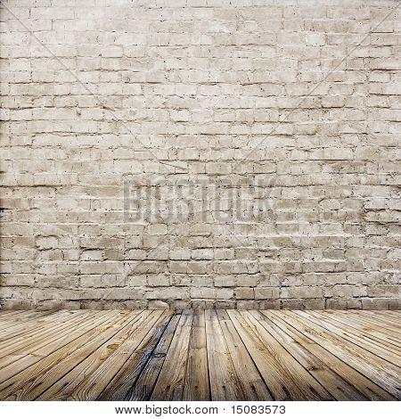 belső régi tégla fal