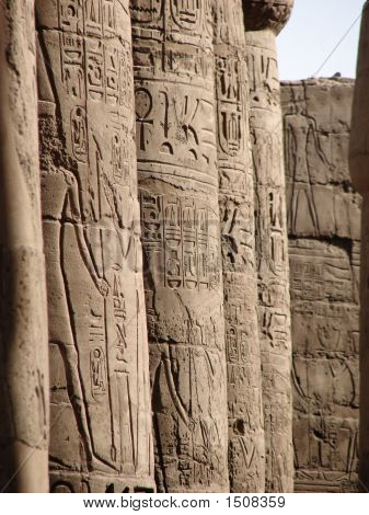 Karnak Colonnade
