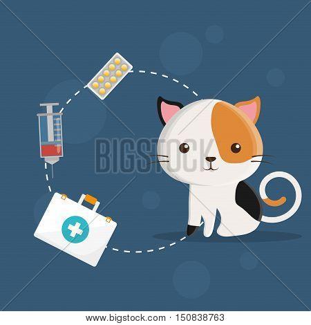 pet care center service icons vector illustration design