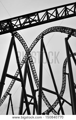 Roller Coaster Track Construction