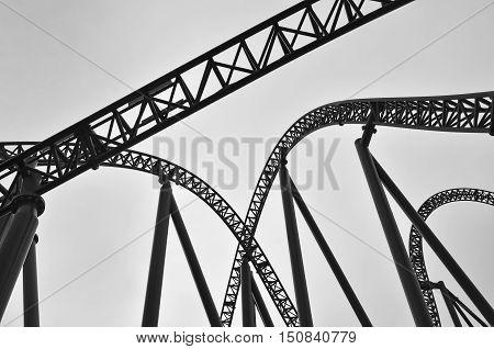 Roller Coaster Track Construction