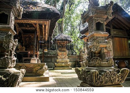 Bali Indonesia Ubud famous Monkey Forest Temple 8