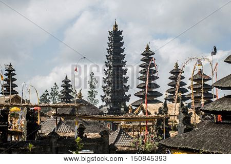 Pura besakih mother temple Bali Indonesia near Gunung Agung 7