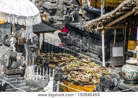 Pura besakih mother temple Bali Indonesia near Gunung Agung 8