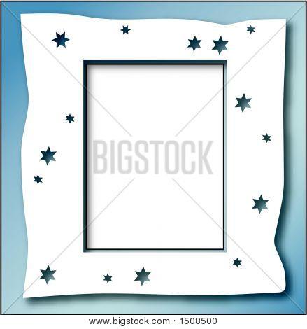 Star Frame Blue1.Eps