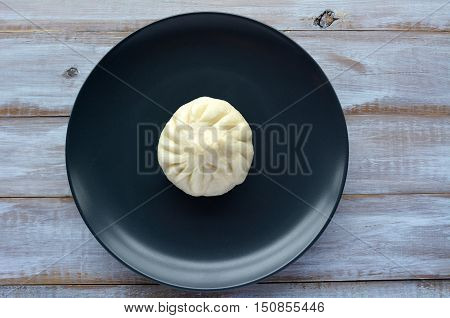 Flat Lay Of Chinese Food Specialty Dumpling