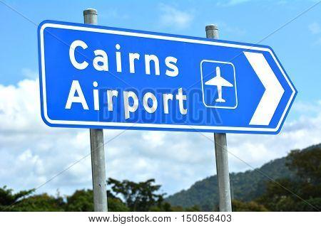 Cairns Airport Queensland Australia