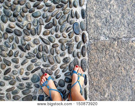 Everyone chooses their way. You can go on a flat concrete path or You can go on the sharp stones