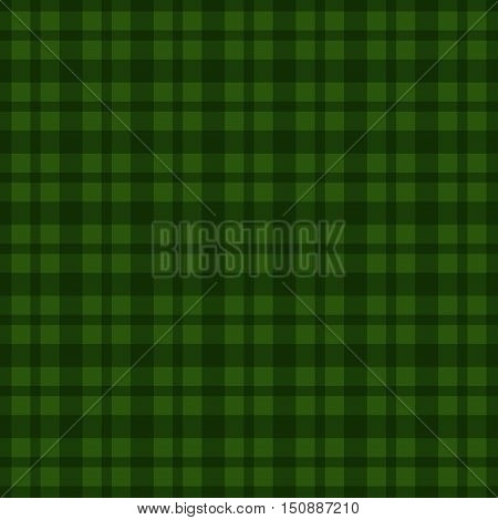 Seamless green vichy pattern. Vector illustration EPS10