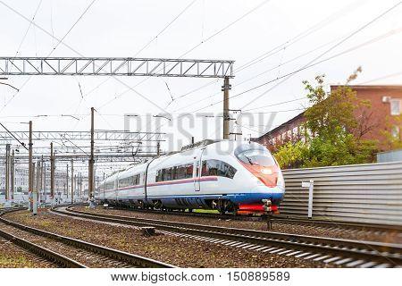 High-speed Electric Train Sapsan