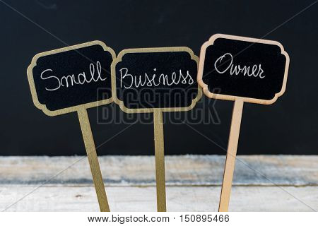 Business Message Small Business Owner