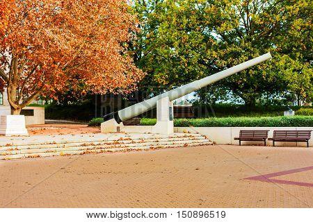 Autumn foliage at the Australian War Memorial, Canberra