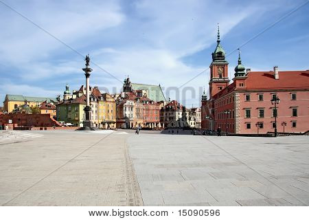 Warsaw capital of Poland.