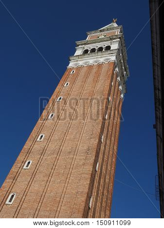 St Mark Campanile In Venice