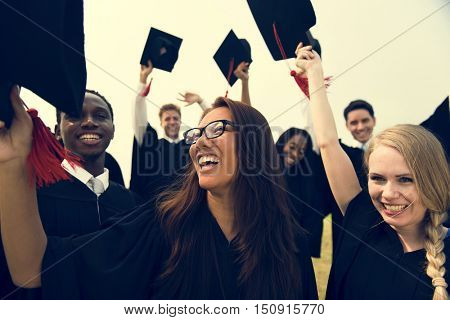 Graduation Achievement Student School College Concept