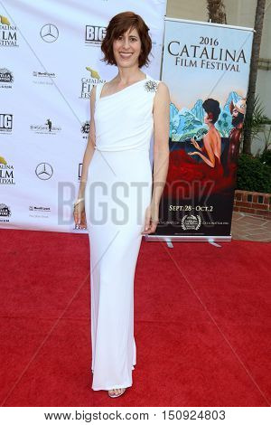 LOS ANGELES - OCT 1:  Melissa Kent at the Catalina Film Festival - Saturday at the Casino on October 1, 2016 in Avalon, Catalina Island, CA