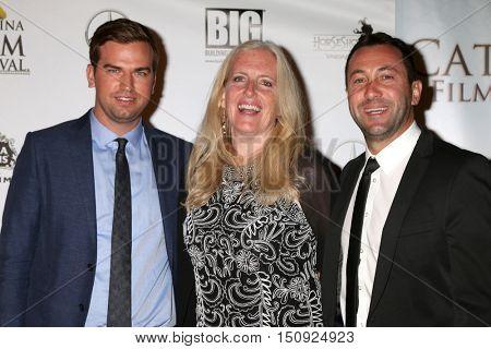 LOS ANGELES - OCT 1:  Kohl Harrington, guest at the Catalina Film Festival - Saturday at the Casino on October 1, 2016 in Avalon, Catalina Island, CA