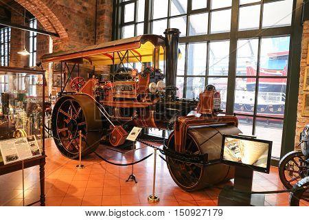 John Fowler Co. Steam Roller