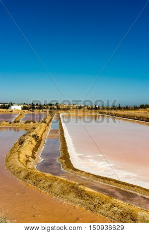 The ancient technology adapted to the landscape of the Ria Formosa turns the salt pans into outdoors chemistry labs