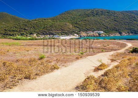 Grand Capo Beach, Corsica, France