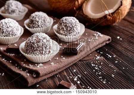 No Bake Coconut Balls