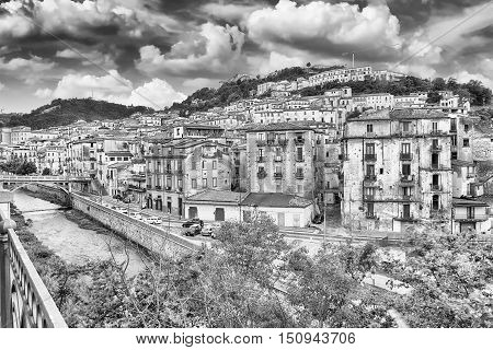 Scenic View Of The Old Town In Cosenza, Italy