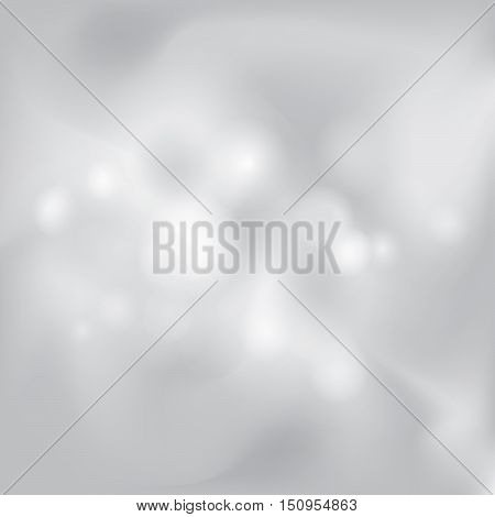Abstract White And Gray Background Subtle Chrome Metal Texture