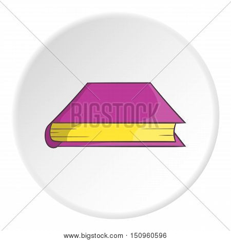Thick book icon. Cartoon illustration of thick book vector icon for web