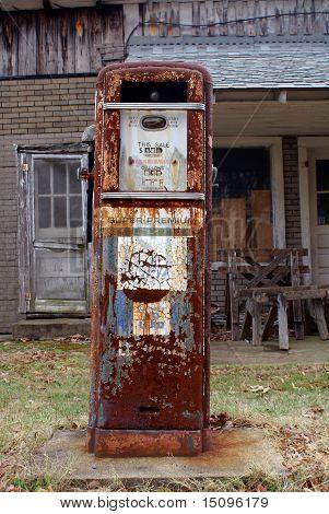 Antique American Gas Pump