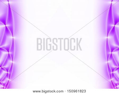 White and purple abstract background for ppt template,card, brochure