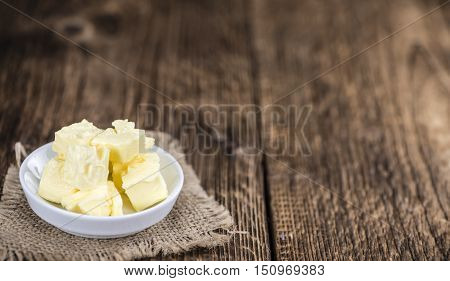 Fresh Butter (selective Focus; Close-up Shot)