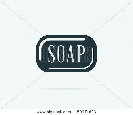 Barber Soap Vector Element Or Icon, Illustration Ready For Print Or Plotter Cut Or Using As Logotype