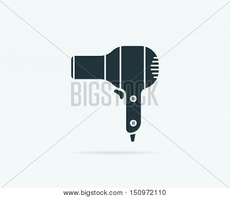 Fan Hair Dryer Vector Element Or Icon, Illustration Ready For Print Or Plotter Cut Or Using As Logot