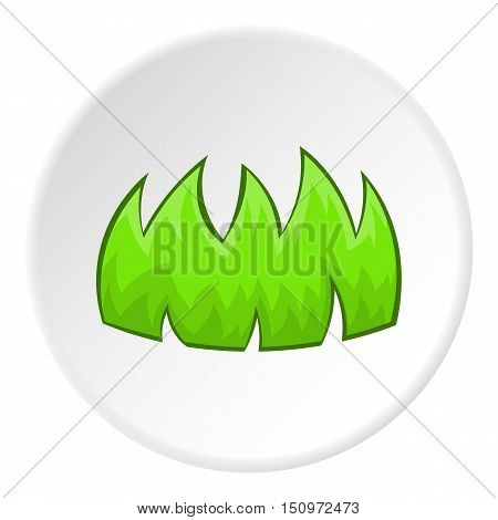 Bushes icon. Cartoon illustration of bushes vector icon for web