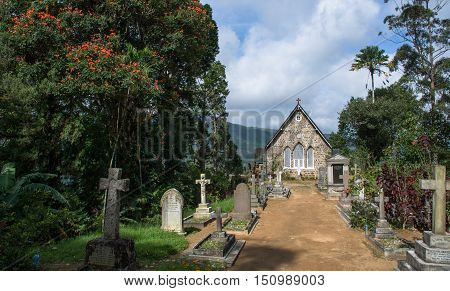 Anglican Chirst Church Warleigh in Hatton - Dick oya, Sri Lanka
