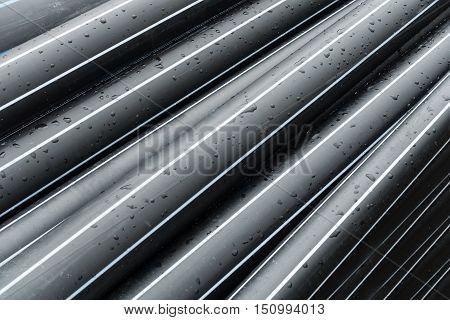 HDPE potable pipe storage Spare part pipeline.