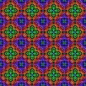 Colorful repeating plastic glossy kaleidoscope pattern background design poster