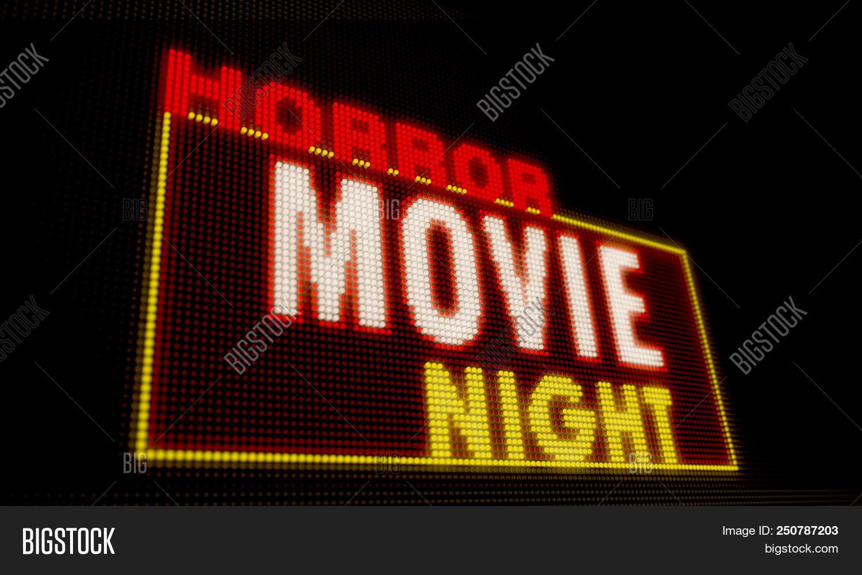 Horror Movie Night Image Photo Free Trial Bigstock