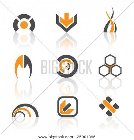 vector logos- colorful version