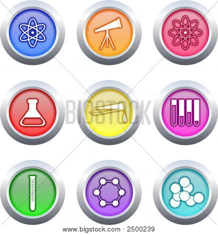 Science Buttons