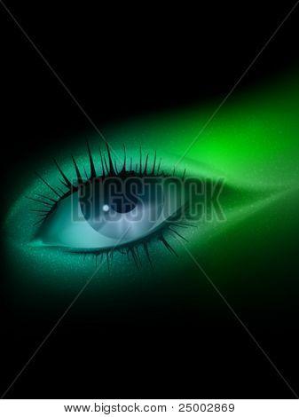 vector eye illustration