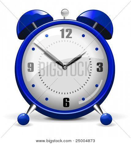 Alarm Clock - Blue